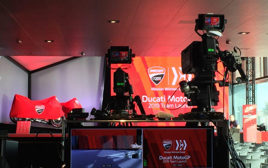 Presentazione Team Mission Winnow Ducati – 2019