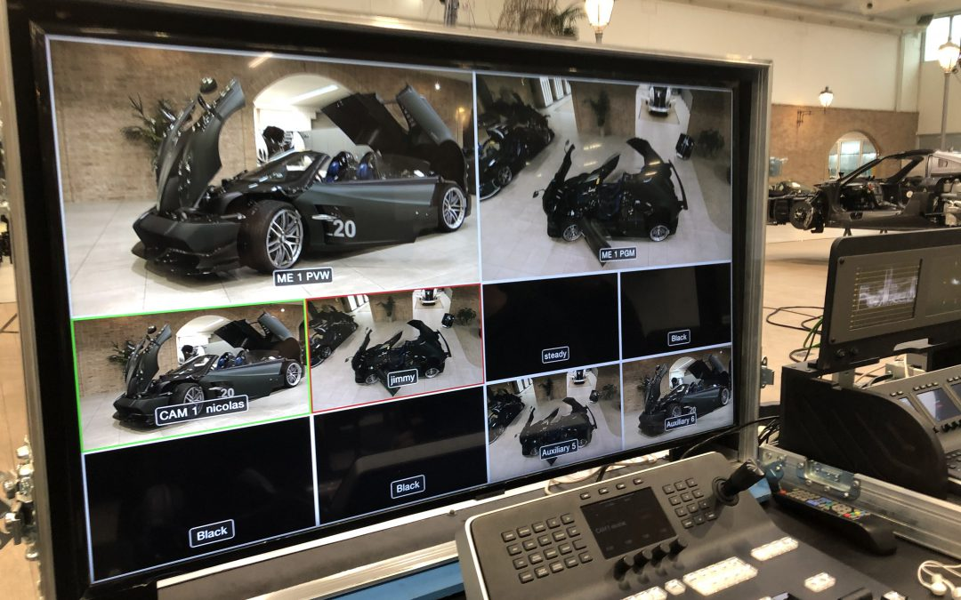 PAGANI AUTOMOBILI 2020 – Presentazione IMOLA | Streaming Video
